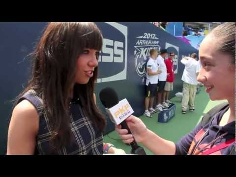 CARLY RAE JEPSEN Interview w/ Pavlina Arthur Ashe Kids Day NY 2012 Call Me Maybe dance