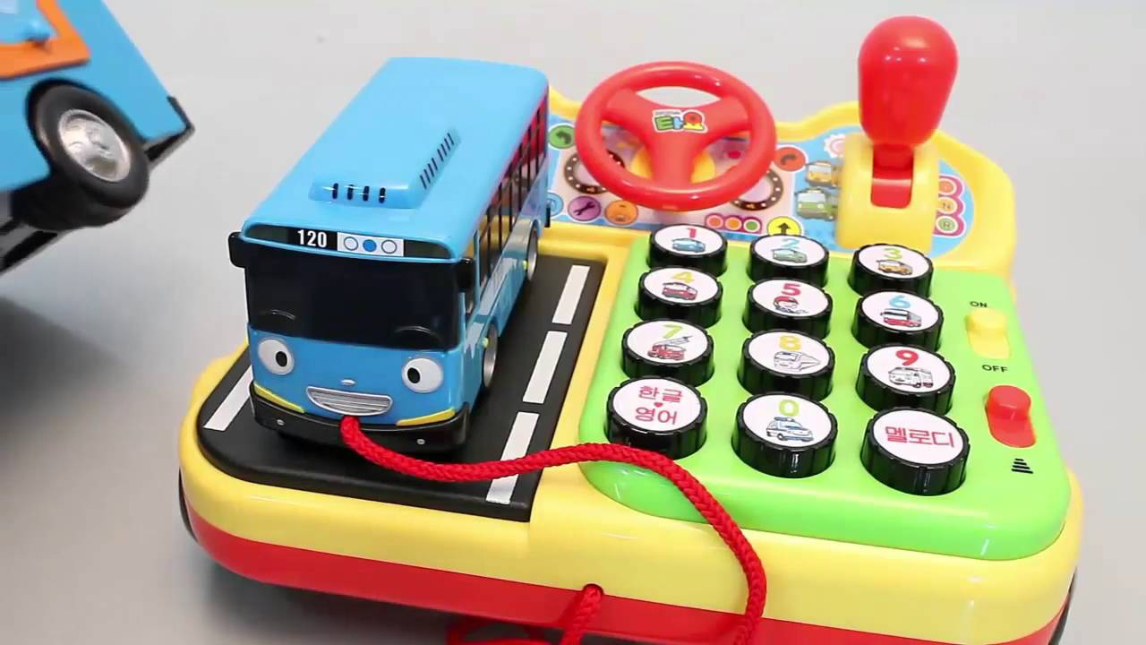 Тайо маленький автобус | 타요 꼬마버스 타요 전화기 놀이 똑똑한 타요타요 장난감 ...