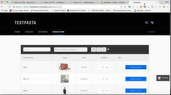 Wholesale Shopify: Create Multiple Order Forms For Specific Collections