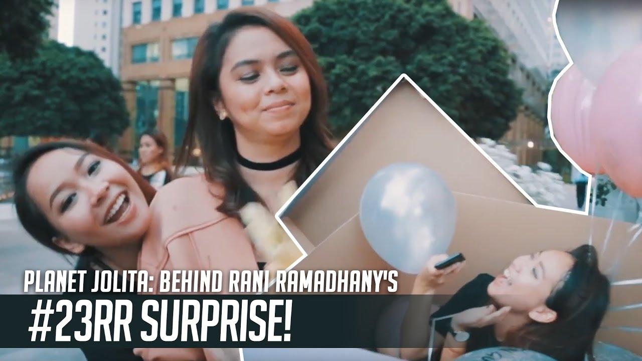 Planet Jolita: Behind Rani Ramadhany's #23RR Surprise! (#RRGJnjoy)