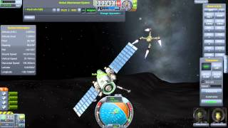 Kerbal Space Program - Reusable Space Program - Episode 11 - Mun Rescue