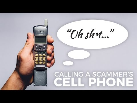 CALLING A TECH SUPPORT SCAMMER'S CELL PHONE