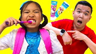 Put On Your Shoes Song  Wendy Pretend Play Morning Routine Bru…