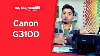 ¡Imprime desde tu smartphone! Canon G3100