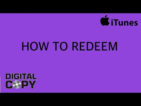 How To Redeem a Digital Movie on iTunes
