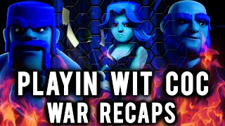 PwC vs Spartans Legacy | TH9 Raids + HGH Strategy | Clash of Clans
