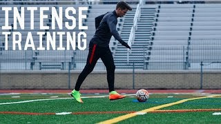 Intense Training Day | A Day In The Life of a Footballer/Soccer Player