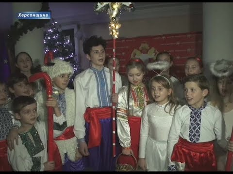 KhersonTV: Різдвяне диво в Херсоні -  фінал міського фестивалю дитячої творчості «Острів Різдва»