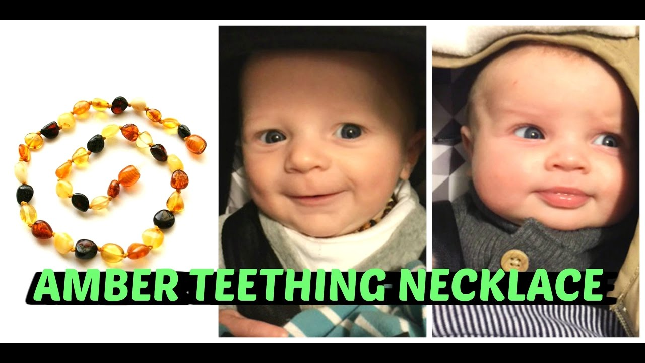 Amber Teething Necklace Review Youtube