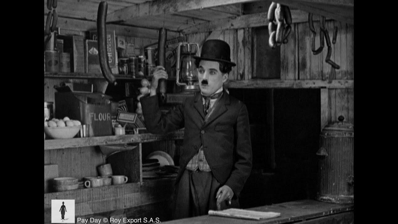 Charlie Chaplin - Streetcar Scene (from 'Pay Day')
