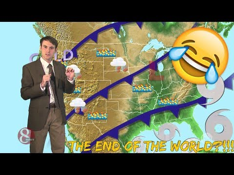 Studio C | Five Day Weather Forecast! REACTION!!!