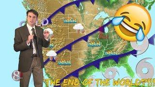 Studio C   Five Day Weather Forecast! REACTION!!!