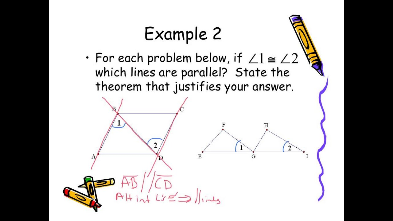 5 2 Proving Lines Parallel