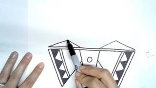 How To: Draw a Pueblo Dragonfly Design