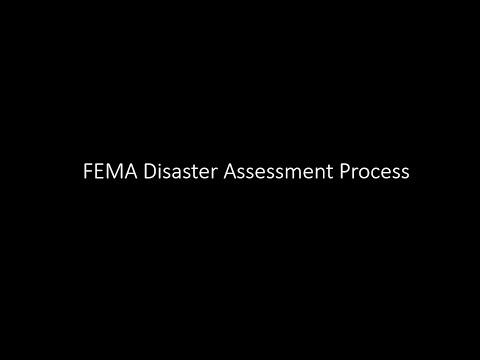 FEMA Disaster Assessment Process
