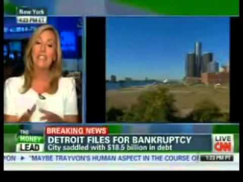 BREAKING: U.S. City of Detroit Files Biggest BANKRUPTCY in History