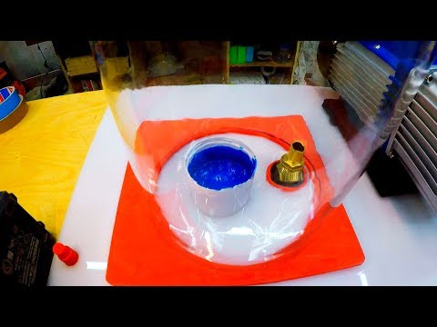 Вакуумная камера для литья своими руками