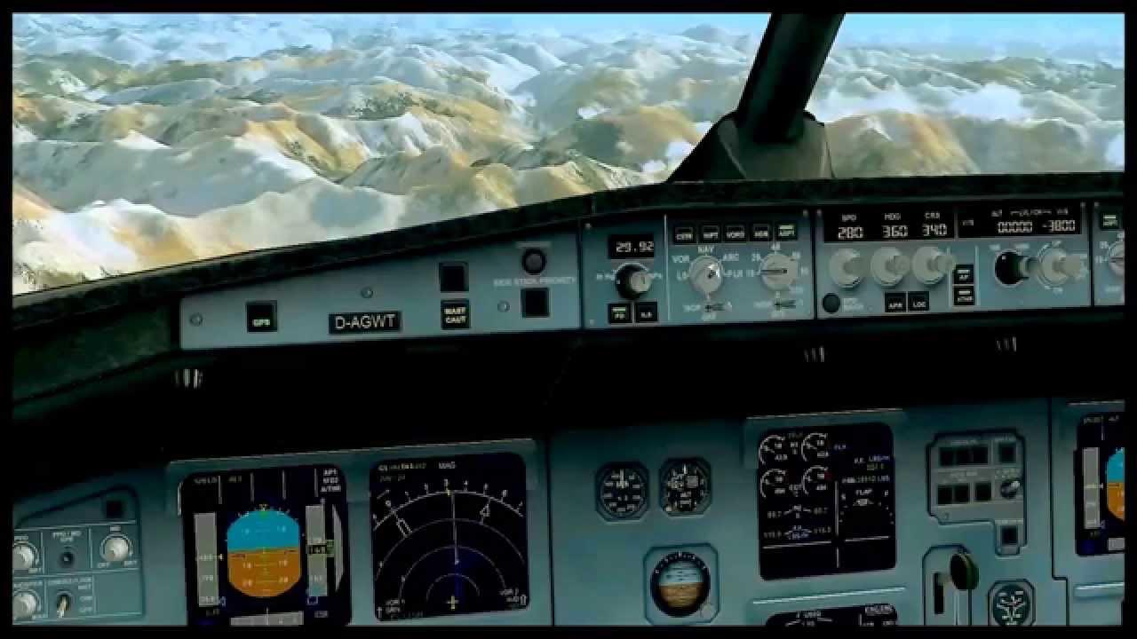 Germanwings Flight 9525 Crash - SIMULATION - YouTube