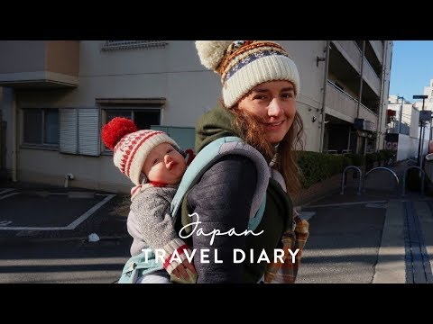 Japan Travel Diary • Ski Snow Holiday with Kids 2018