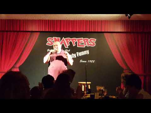 John Butera- Snappers Comedy Club in Florida show 1