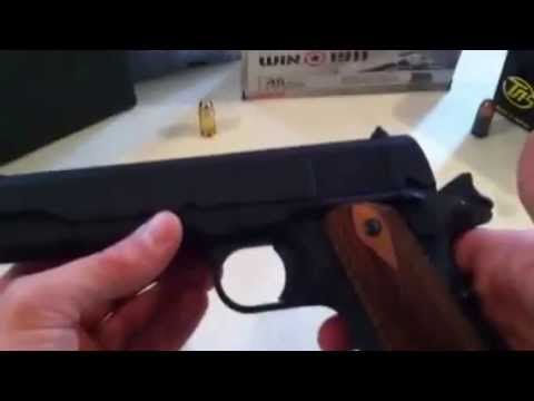 Auto Ordnance 1911a1 review by agbond