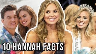 10 Things You Didn't Know About Hannah Brown