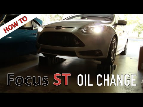 How To Change Oil On A Ford Focus ST