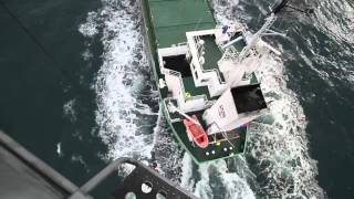 Royal Navy Sea Kings search-and-rescue in action