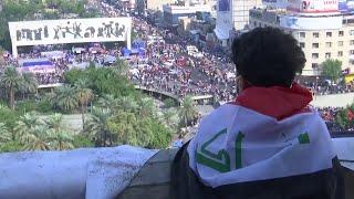 ما الذي جاء بجبل أحد إلى قلب ساحة التحرير في بغداد.. وما علاقة المطعم التركي؟