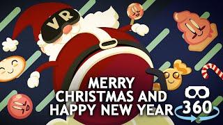 Merry Christmas Happy New Year TAPE 360° 4K #VirtualReality #360Video #VR #360