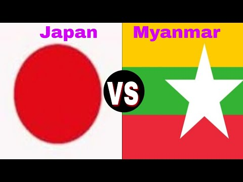 Japan VS Myanmar military power comparison 2018