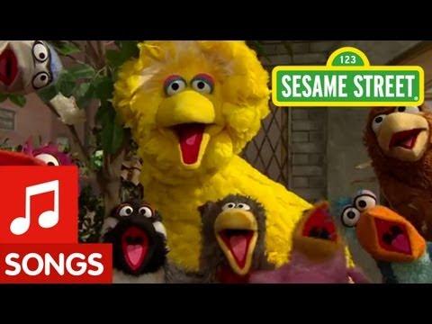 """Sesame Street: Big Bird sings """"That's Cooperation"""""""