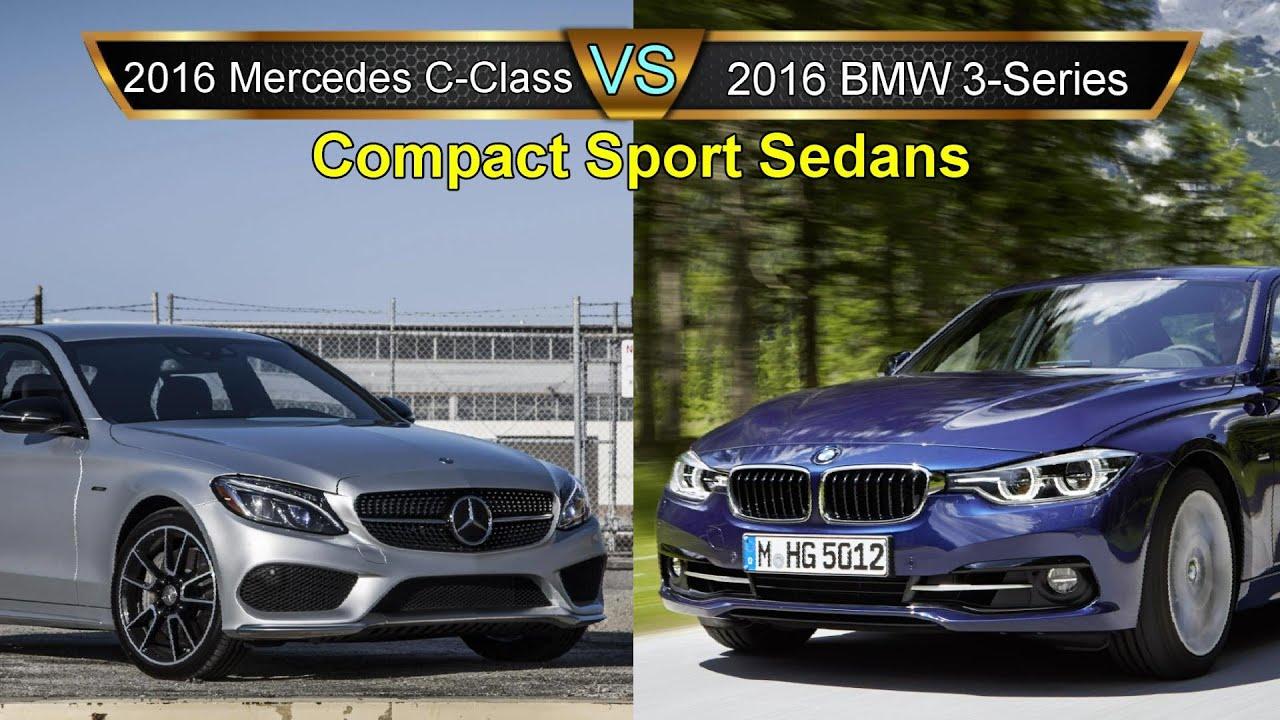 Worksheet. 2016 BMW 3 Series vs Mercedes C Class Compact Sport Sedan