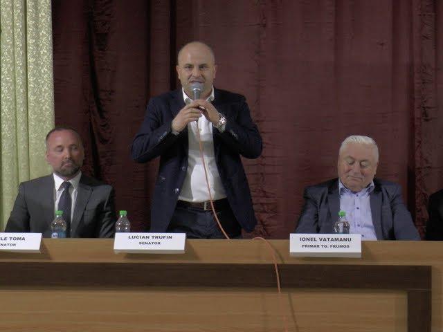 CONFERINȚĂ PENTRU PRODUCĂTORII AGRICOLI, LA TÂRGU FRUMOS