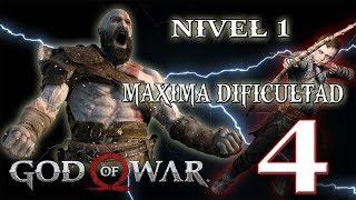 🔴 NIVEL 1- MAXIMA DIFICULTAD - GOD OF WAR - PARTE 4!!!