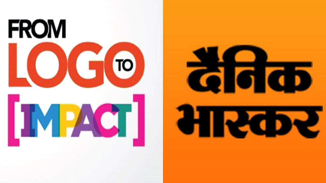from logo to impact bloomberg tv features dainik bhaskar