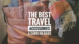 How to Travel on a Plane in Comfort | Best Carry-on Bags!