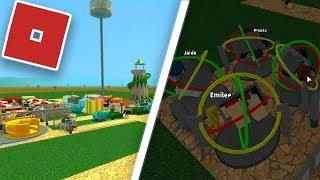Statau Amusement Park! (Roblox Theme Park Tycoon 2)