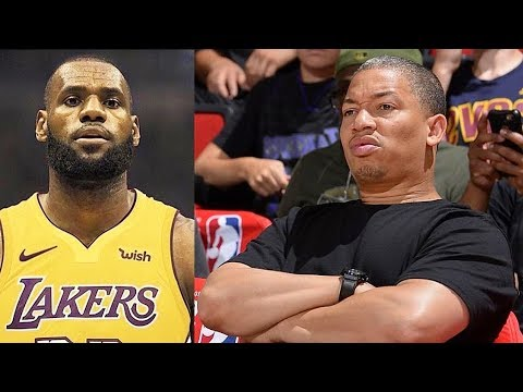800f9d50ae2b LeBron James Hurt Tyronn Lue and Shocked Him After Leaving Cleveland  Cavaliers To Join The Lakers!