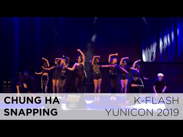 Chung Ha - Snapping | Live Cover:  K-FLASH @ Yunicon 2019