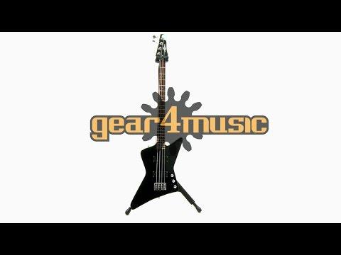 Harlem Z Bass Guitar by Gear4music Demo