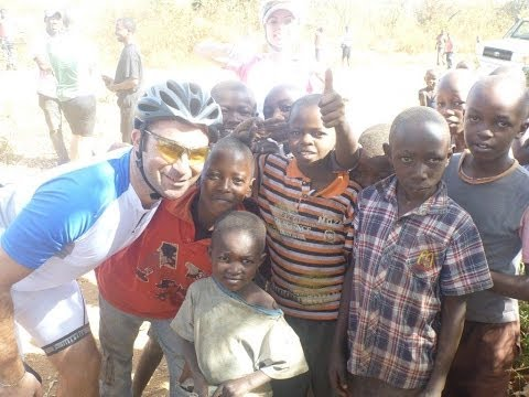 Kenya to Tanzania with International Childcare Trust - helmet camera