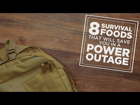 8 Survival Foods That Will Save You in a Power Outage