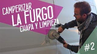 Camperización furgoneta #2: Cómo arreglar la chapa y tratar el óxido