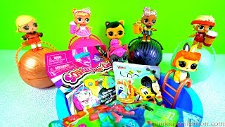 Lodra Surprise! Opening Blind Bags! A Pool of Toy Surprises! Opening Blind Bag Mickey Mouse, Trolls