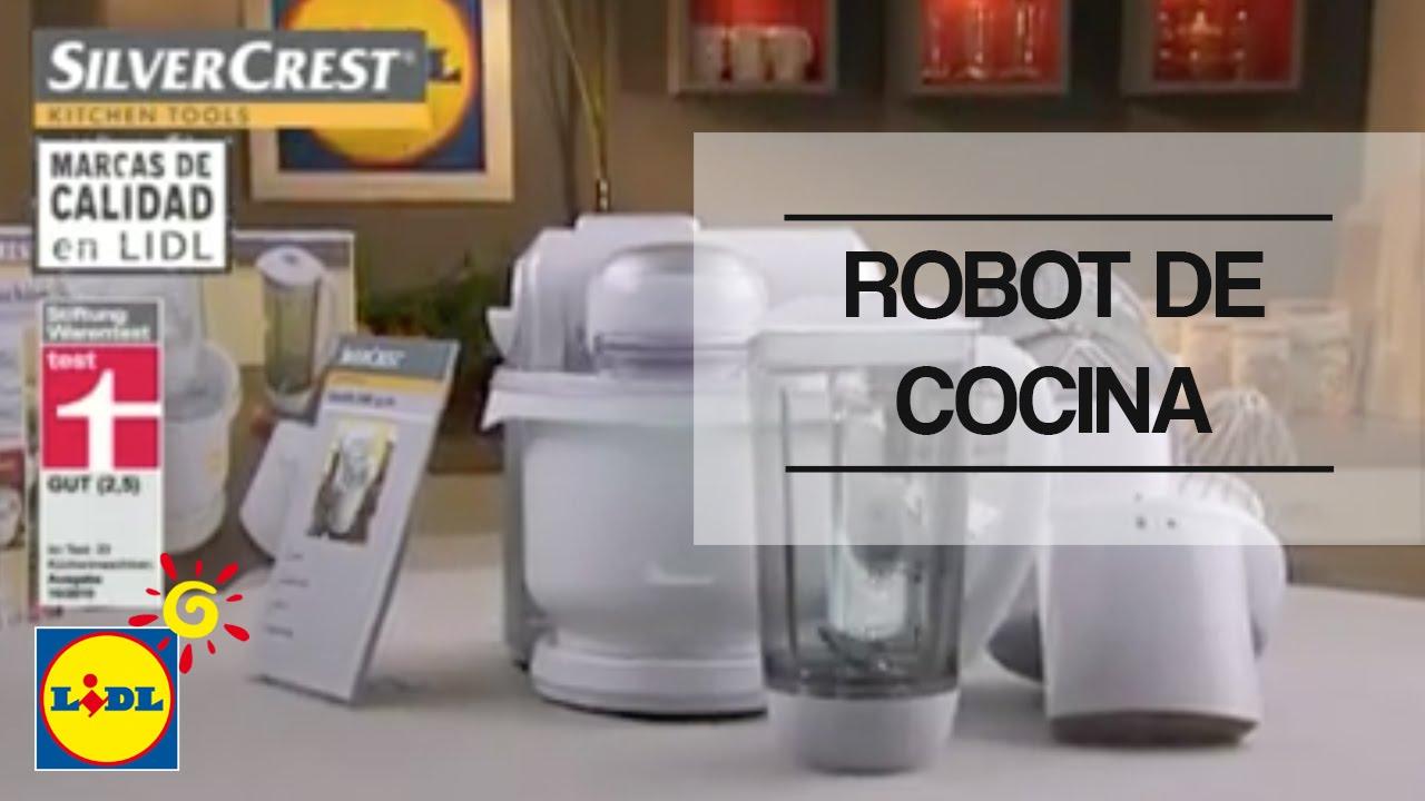 Robot de cocina lidl espa a youtube - Opiniones sobre robots de cocina ...
