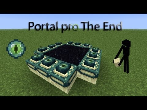 how to teleport in minecraft to the end portals
