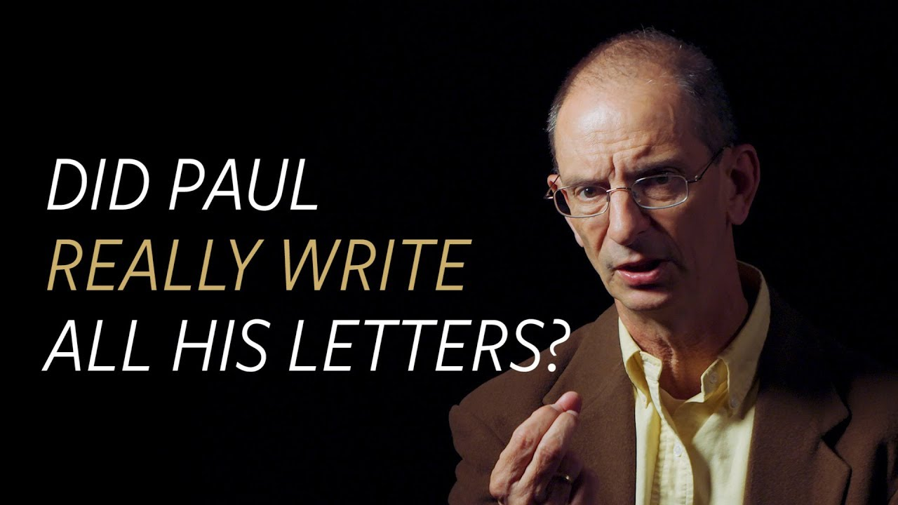 Did the Apostle Paul really write all his letters?