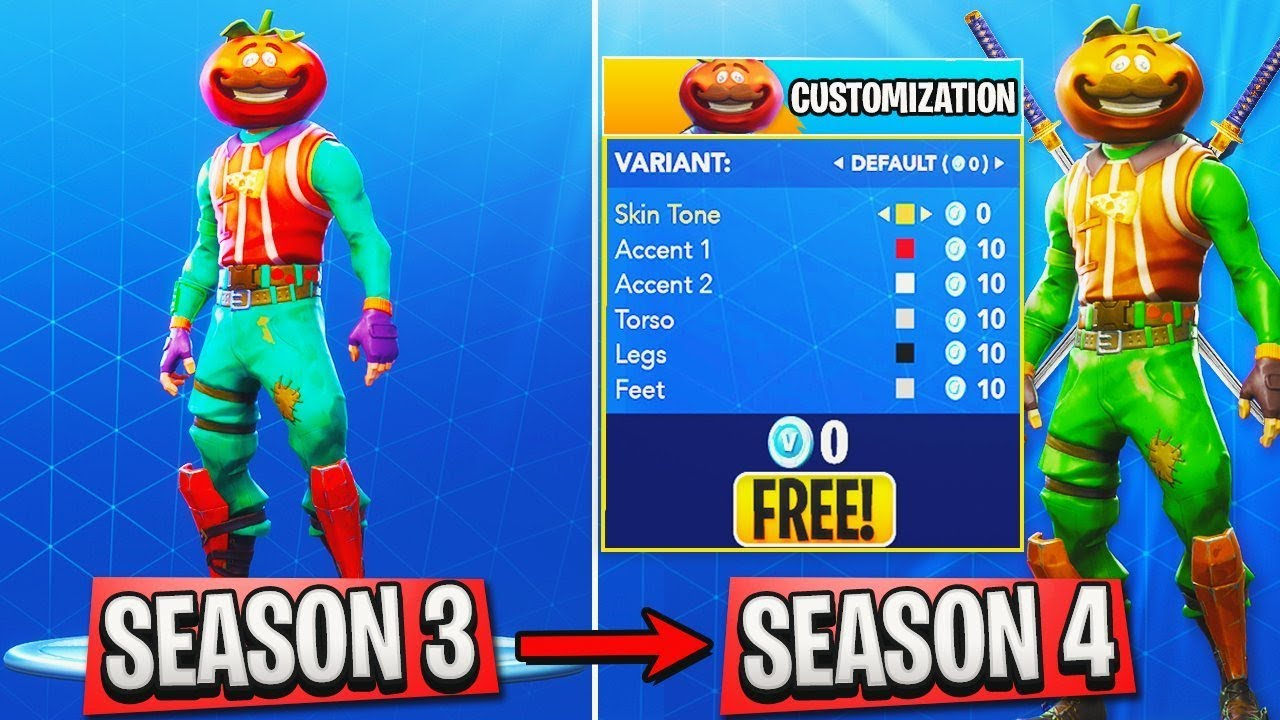 4 Major Season 4 Changes In Fortnite All New Skins Season 4