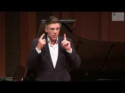 Thomas Hampson Masterclass June 24, 2016